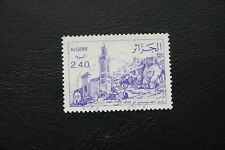 Algerien, Gebäude mit Turm (gestempelt)