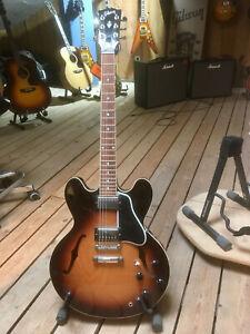 "Gibson 2012 ES-335 Dot Tri-Burst VS - Halbresonanz Gitarre ""B-Stock"""