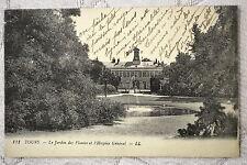 """CPA """" TOURS - Le Jardin des Plantes et l'Hospice Général"""