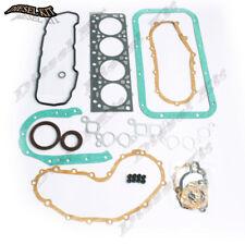 Engine Gasket Kit+Piston Rings For Nissan K21 K25 Gasoline LPG TCM CAT Forklift
