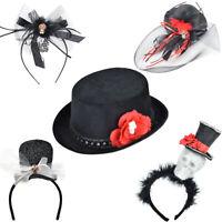 Haarreif Haarschmuck Accessoire Zubehör Totenkopf  Karneval  Hallowen Fasching