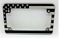 MCBSNP USMC Motorcycle Billet Aluminum License Plate Frame