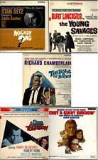 5 Soundtrack LP's MICKEY ONE, YOUNG SAVAGES, TWILIGHT OF HONOR, ODDS, SHADOW