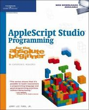 AppleScript Studio Programming for the Absolute Beginner-ExLibrary