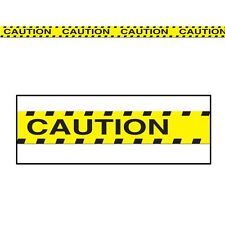 Caution Party Tape Banner Decoration - 6m - Halloween Party Decorations