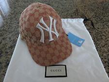 GUCCI Canvas NY Yankees Baseball Cap Hat Style 539836 4HF16 8300