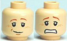 LEGO 4738 Harry Potter - Minifig, Head Dual Sided Ron Smile / Scared Pattern