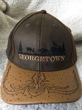 Georgetown Colorado Brown Baseball Cap Bear Coyote Deer Elk Embroidered Bill Hat