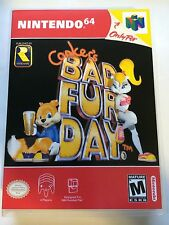 Conker's Bad Fur Day - Nintendo 64 - Replacement Case - No Game