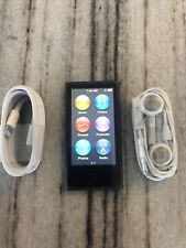 Apple iPod nano 7th Generation Slate (16 GB) New Battery Very Nice Fast Ship