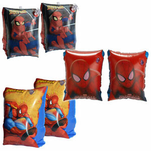 Swimming Arm Bands SPIDER MAN Inflatable Float Swim Aid Armbands Kids Children
