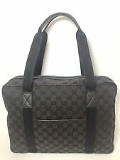 AUTHENTIC New ($429) Gucci GG Unisex Small Denim Tote/Travel Bag #282529, NWT