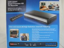 Humax HDR-2000T 500GB Freeview HD Digital TV Recorder with Twin Tuner in Black