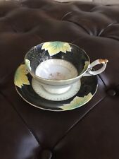 SHAFFORD HAND DECORATED JAPAN TEA CUP & SAUCER