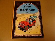 COMIC EGMONT / THE ADVENTURES OF TINTIN - LAND OF BLACK GOLD