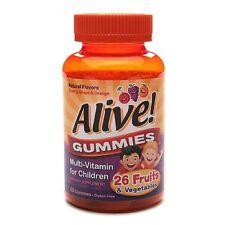 Nature's Way ALIVE! Kids Gummy Vitamins 60 CT Multivitamin Children's