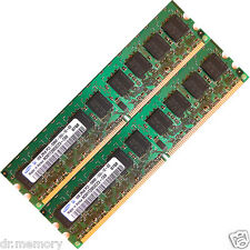 2GB (2x1GB) DDR2 533 MHz PC2 4200 Memory ECC Unbuffered RAM 240 pin Upgrade