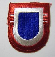 82nd AIRBORNE DIVISION 2nd BATTALION AIRBORNE BERET FLASH  U.S. ARMY - FULL COLO
