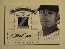 2012 National Treasures Austin Jackson Detroit Tigers Prime Relic Auto 1/1