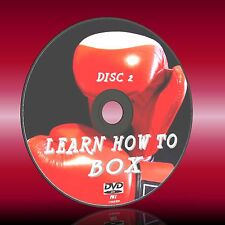 LEARN TO BOX EASY 2 FOLLOW 2 DVD SET DEFENCE COUNTERS BOXING SKILLS TRAINING NEW