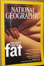 NATIONAL GEOGRAPHIC AUG 2004 FAT,SQUID,JERSEY SHORE