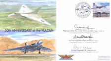 VRT1 Avro Vulcan First Flight RAF cover signed MRAF CRAIG CHRISTIE + LOCKYER