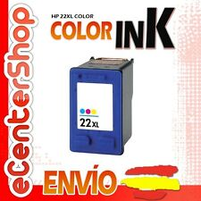 Cartucho Tinta Color HP 22XL Reman HP Deskjet 3940