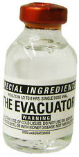 EVACUATOR Causes total uncontrollable evacuation for whomever drinks it GROSS