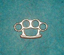 Pendant Brass Knuckles Charm Fighter Charm Knucks Hand to Hand Combat Charm