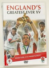 England's Greatest ever Rugby XV England DVD RRP £14.99