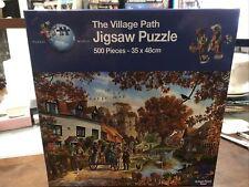 Puzzle World 500 Piece Jigsaw Puzzle - THE VILLAGE PATH