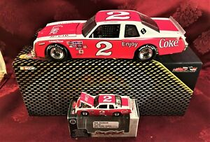 DALE EARNHARDT #2 Coka Cola 1980 RCCA 1/24 Elite Car & 1/64 HO Car Diecast SET