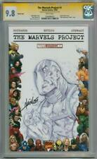 MARVELS PROJECT #1 BLANK CGC 9.8 SIGNATURE SERIES SIGNED LEE DEADPOOL SKETCH