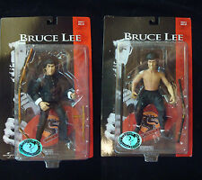 1998 Bruce Lee Universal Slideshow Fighting Action Figure Lot Set Sale MINT