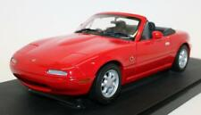 Gate 1/18 Scale Diecast Model Car 01012 - Mazda MX5 MK1 RHD - Classic Red