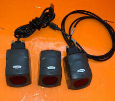 Lot of (3)Symbol Ms-3207-1000R Fixed Barcode Scanners