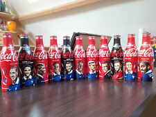 Lot de 11 bouteilles COCA COLA alu équipe de France EURO 2016