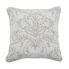 Croscill Liliana Square Decorative Throw Pillow in Ivory