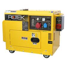 ROTEX GD4SS-3-6000-5EBZ-ATS 400V Stromerzeuger mit DIeselmotor (GEN241)