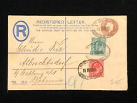 Postal History England, Cover LONDON to ALBRECHTSDORF in BOHEMIA 1903