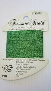 Rainbow Gallery Petite Treasure Braid Cross Stitch Needlepoint You Choose