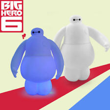 BAYMAX BIG HERO 6 DISNEY LED ROBOT ACTION FIGURE DISPLAY FIGURINES TOY KID CHILD