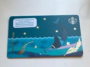 Starbucks Coffee Card 2020 Limited Edition Siren Anniversary Australia Rare