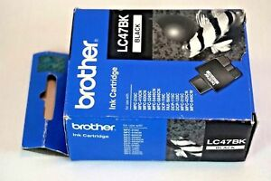Ink Cartridge Genuine Brother LC47BK  Black Expired 2008 AX0499 Office Supplies