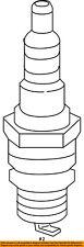 CHRYSLER OEM Ignition-Spark Plug SP149125AE