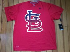 NEW Nike St. Louis Cardinals Men's Tee T-Shirt - Red - Sz XXL 2XL