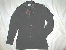 XOXO  $295 size M medium gorgeous black jacket blazer light womens coat