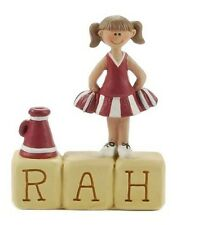Blossom Bucket--RAH Cheerleader Block Figurine~~So Cute~~