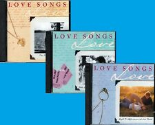 Time Life LOVE SONGS 6CD Lot AFTERNOON PARK PICNIC ONE YOU LOVE Classic Rock Pop