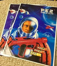 PEZ 80's Space Gun Advertisement 8 X 10 (Qty1)
